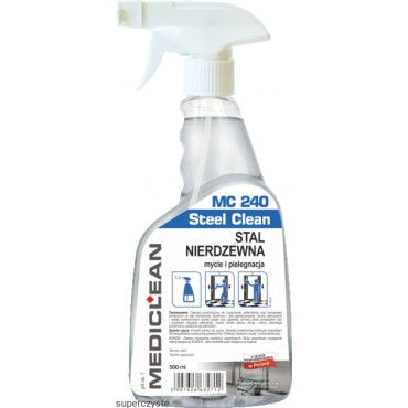 MC 240 Steel Clean 500 ml
