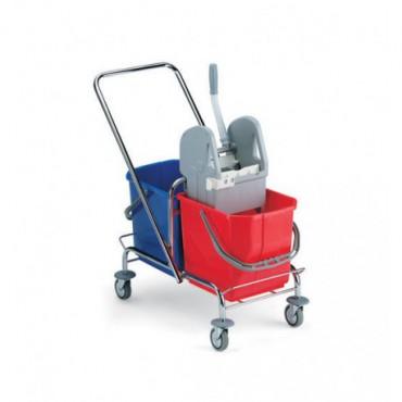wózek do sprzątania - 2 wiadra