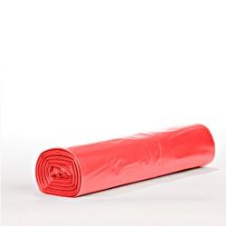 Worki foliowe LDPE czerwone