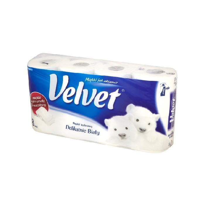 Velvet XXL - 3 warstwowy papier toaletowy