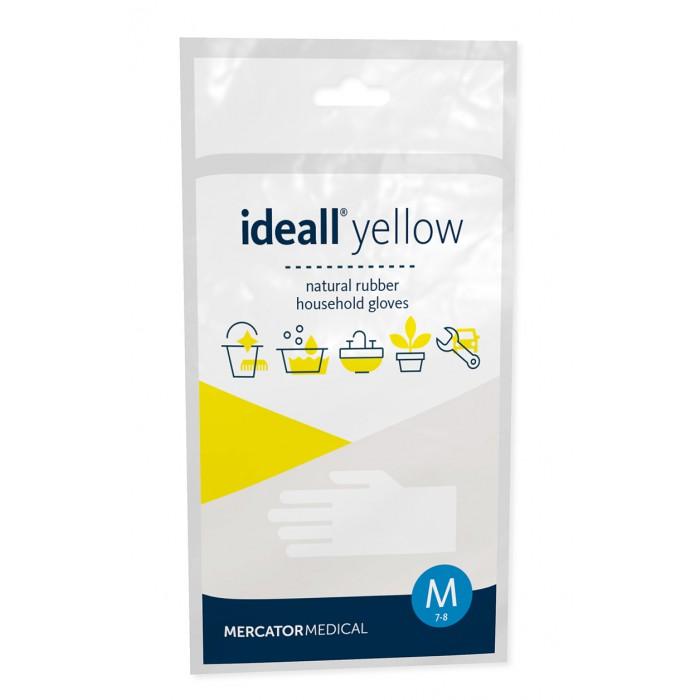 Rękawice ochronne z lateksu - Ideal Yellow