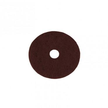 pad czyszczący - brązowy